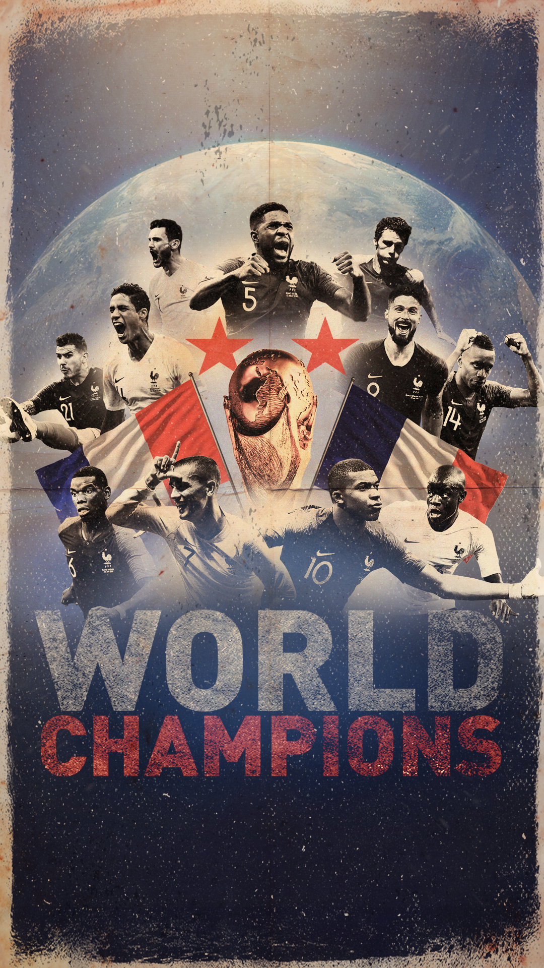 FRANCE-CHAMPIONS-MOBILE